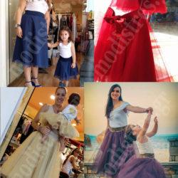 Μαμά και κόρη ίδια ρούχα